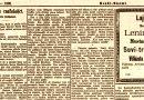 Selostus tyypillisestä lynkkauksesta, suomalaisreportteri Amerikassa 1893