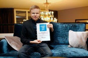 Niko on palkittu mm. kunniakirjalla Porvoon yrittäjiltä ja Stipendillä.