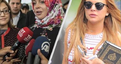 Lindsay Lohan kääntynyt muslimiksi?