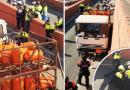 Barselonan poliisi ampunut täydessä kaasulastissa ajavaa ruotsalais kuskia
